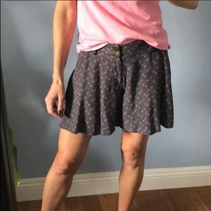 Free People Pink Petals Flowy Shorts